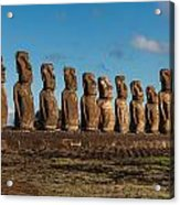 Easter Island Moai Acrylic Print