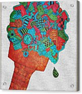 31 Flavors Acrylic Print