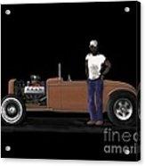 31 Ford Hot Rod Acrylic Print