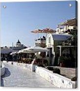 Views Of Santorini Greece Acrylic Print