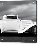 32 Ford Deuce Coupe In Black And White Acrylic Print