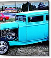32 Ford Victoria Two Door Acrylic Print