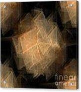 Seamless Background Fractal Acrylic Print