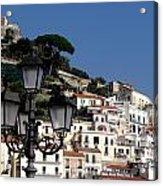 Views From The Amalfi Coast In Italy Acrylic Print