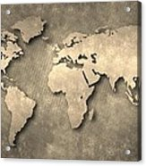 World Map Acrylic Print