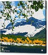 Norway  Landscape Acrylic Print