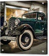 '33 Plymouth Acrylic Print