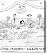 New Yorker July 4th, 2005 Acrylic Print