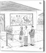 New Yorker September 15th, 2008 Acrylic Print