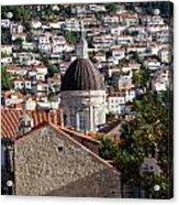 Views Of Dubrovnik Croatia Acrylic Print