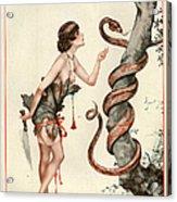 1920s France La Vie Parisienne Magazine Acrylic Print