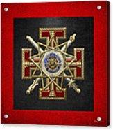 33rd Degree Mason - Inspector General Masonic Jewel  Acrylic Print