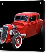 34 Ford Coupe Acrylic Print