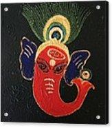 34 Ganadhakshya Ganesha Acrylic Print
