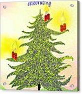 347 - A Christmas Card Acrylic Print