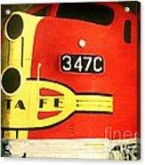 347 C  Up Close Acrylic Print