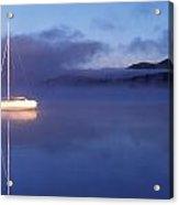 3525-0188-18, Misty Lake Tremblant Acrylic Print