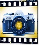 35mm Blues Canon Ae-1 Acrylic Print