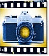 35mm Blues Pentax Spotmatic Acrylic Print