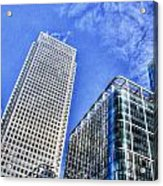Canary Wharf London Acrylic Print