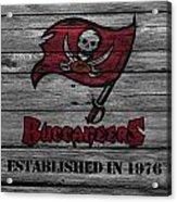 Tampa Bay Buccaneers Acrylic Print by Joe Hamilton