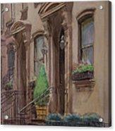 36th Street Ny Residence Of Fdr Acrylic Print