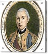 Marquis De Lafayette Acrylic Print