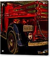 37 Ranch Truck Acrylic Print