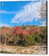 Turner Falls Oklahoma Acrylic Print