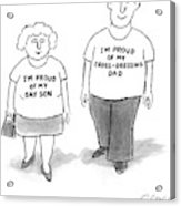 New Yorker November 29th, 2004 Acrylic Print