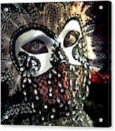 Venice, Italy Mask And Costumes Acrylic Print