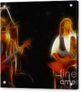 38 Special-94-larry N Jeff-gb20a-fractal Acrylic Print