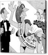 New Yorker April 14th, 2008 Acrylic Print