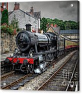 3802 At Llangollen Station Acrylic Print