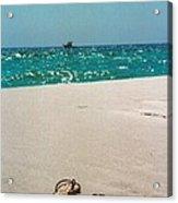 #384 33a Sandals On The Beach - Destin Florida Acrylic Print