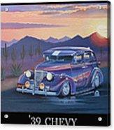 '39 Chevy Acrylic Print