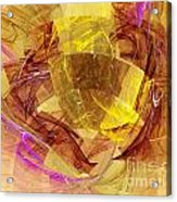 Colorful Abstract Forms Acrylic Print