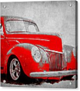 39 Ford Acrylic Print