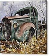 39 Ford Truck Acrylic Print