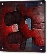 Lumbar Spine Acrylic Print