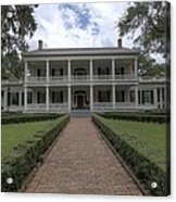 Rosedown Plantation Acrylic Print by Photo Advocate