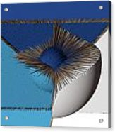 3d Abstract 19 Acrylic Print by Angelina Vick