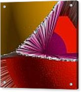 3d Abstract 5 Acrylic Print by Angelina Vick