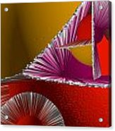 3d Abstract 6 Acrylic Print by Angelina Vick