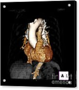 3d Ct Of Normal Heart Acrylic Print