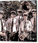 3rd Line Brass Band Acrylic Print by Renee Barnes
