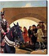 Weimaraner Art Canvas Print  Acrylic Print