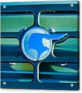 1933 Pontiac Emblem -0467c Acrylic Print
