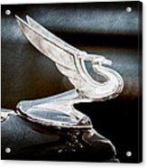 1935 Chevrolet Hood Ornament Acrylic Print