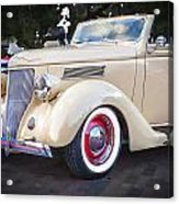 1936 Ford Cabriolet  Acrylic Print